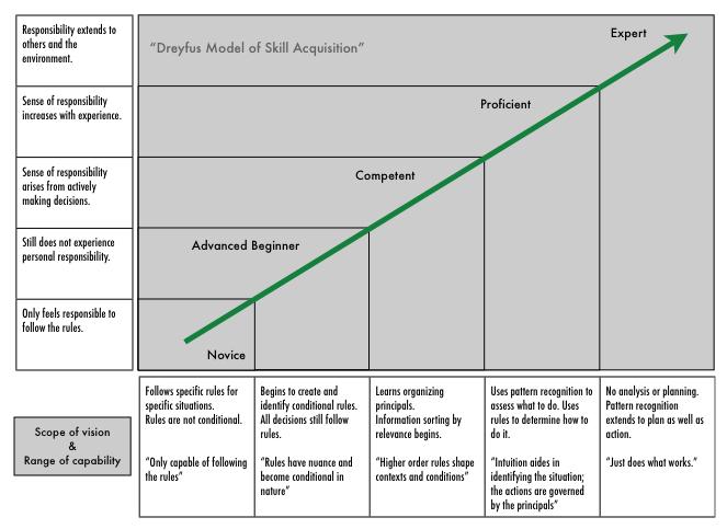 modelo de dreyfus para aprendizado vitor pamplona